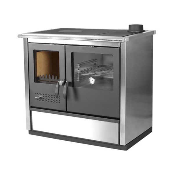 Free Picture Indoors Contemporary Stove Refrigerator: Wood Burning Thermo-Hydro Cook